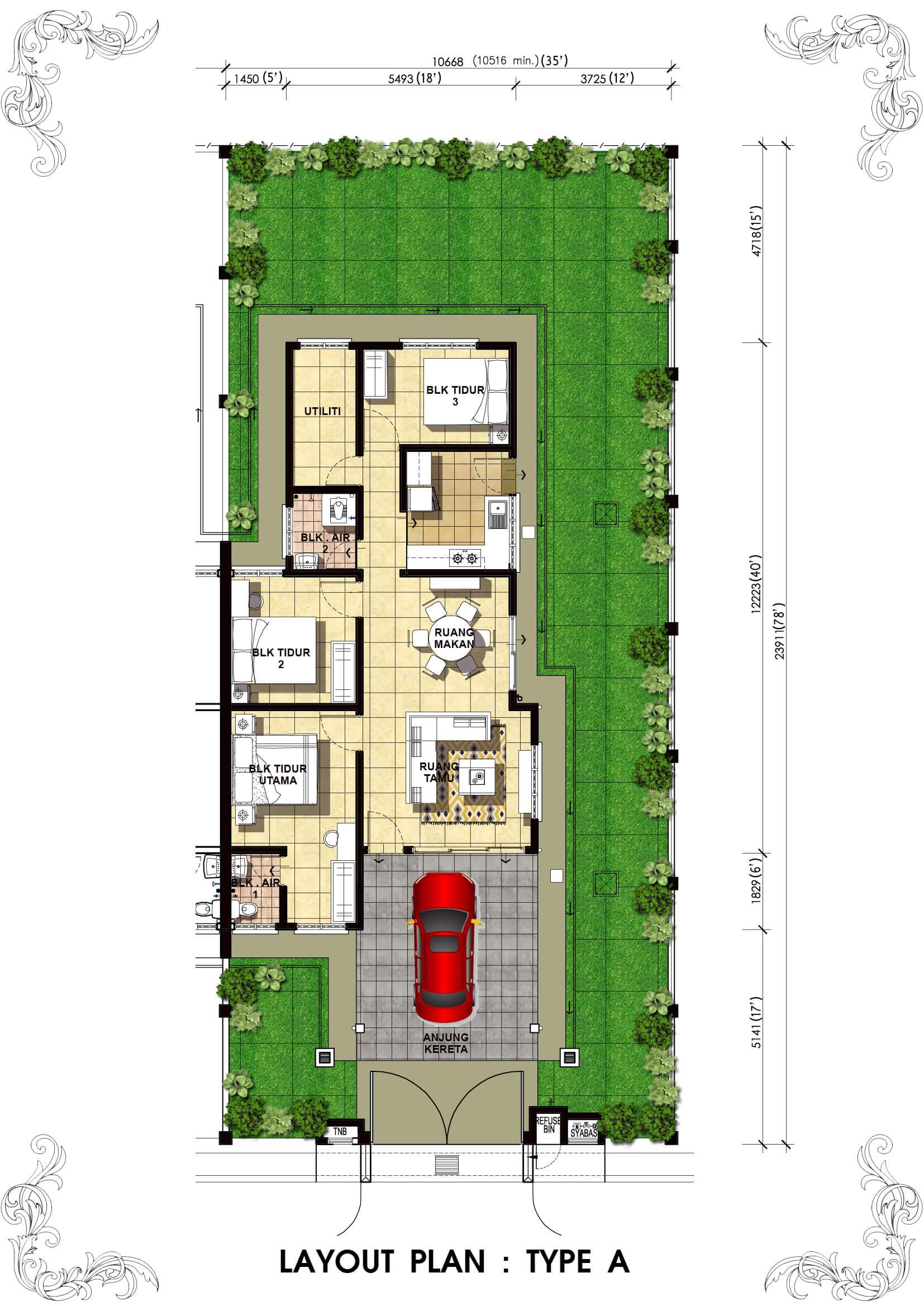 Lot 4208 Taman Bentara, Teluk Panglima Garang 3