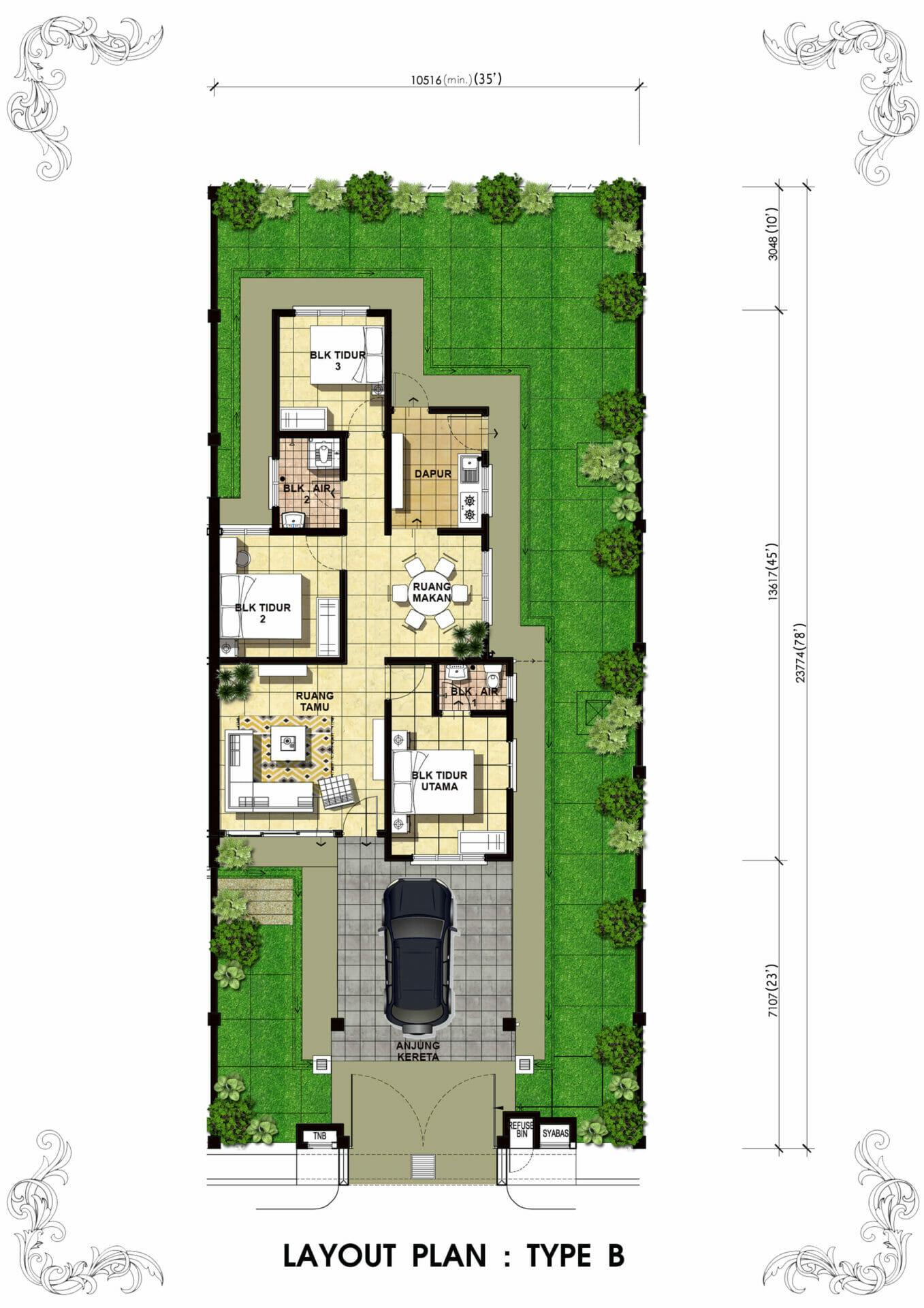 Lot 4208 Taman Bentara, Teluk Panglima Garang 5