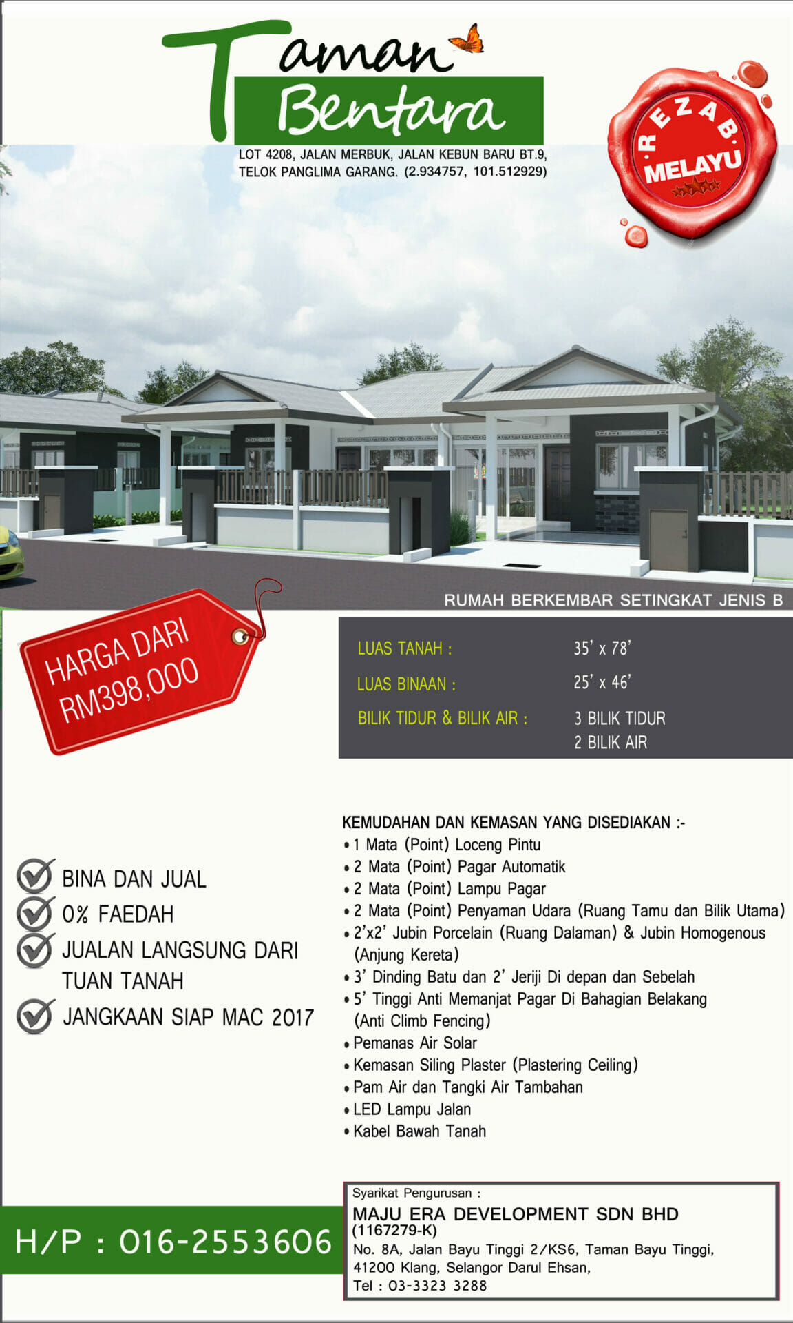 Lot 4208 Taman Bentara, Teluk Panglima Garang 4
