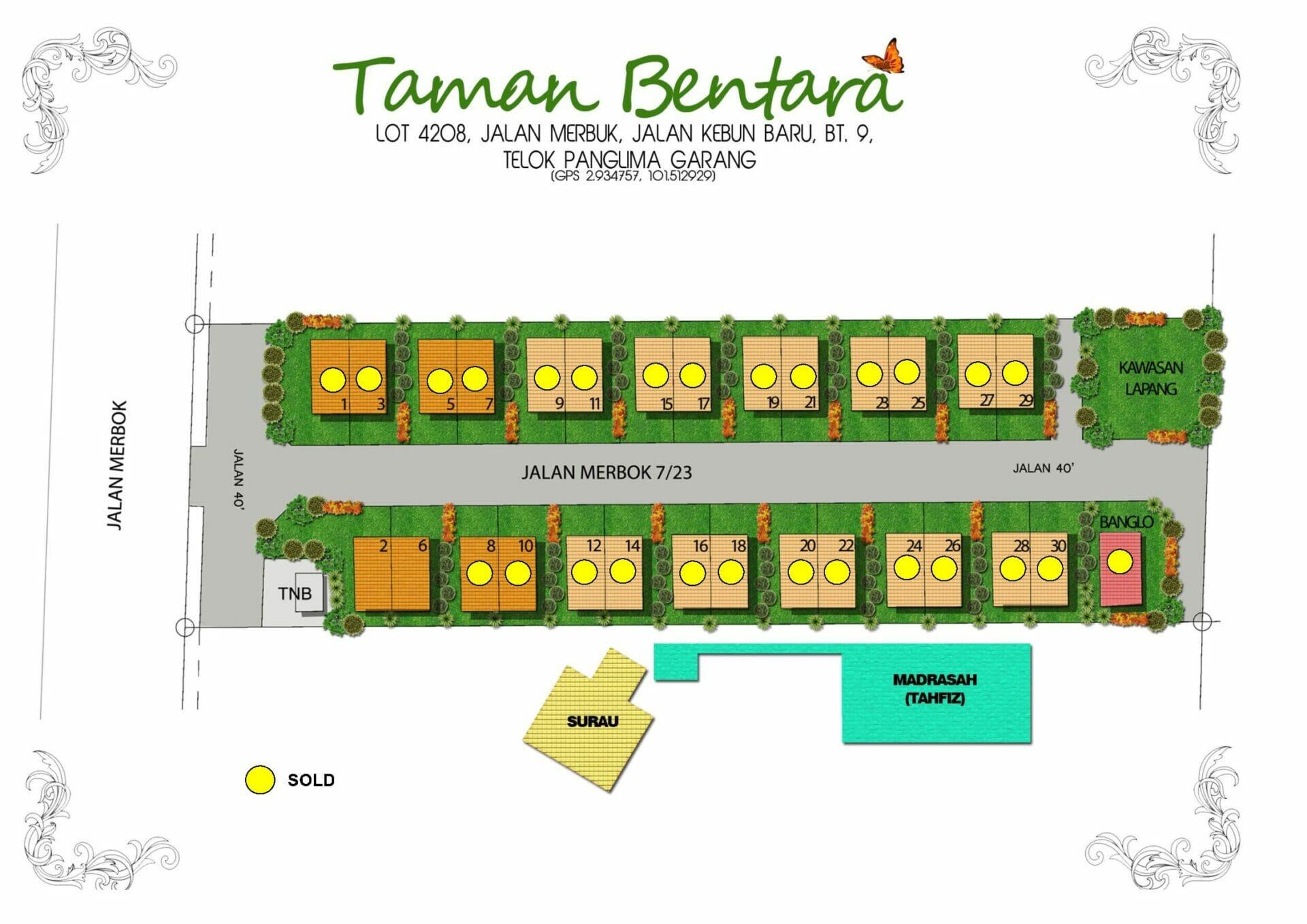 Lot 4208 Taman Bentara, Teluk Panglima Garang 1