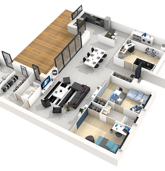 Rumah IBS   Kontraktor Bina Rumah IBS (LPPSA, KWSP & Tunai) 10