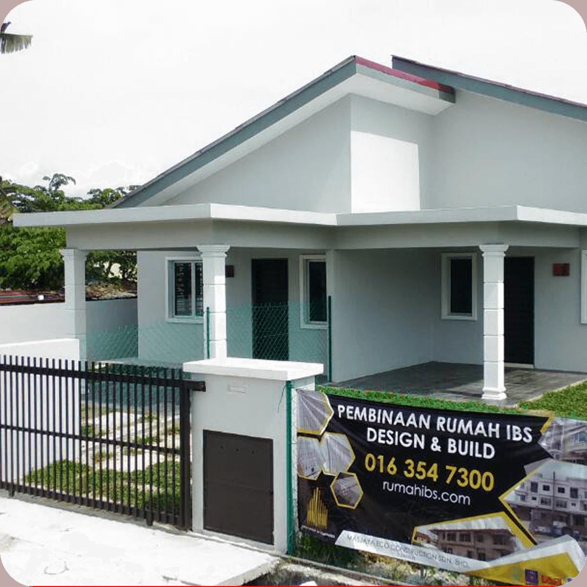 Rumah IBS   Kontraktor Bina Rumah IBS (LPPSA, KWSP & Tunai) 12