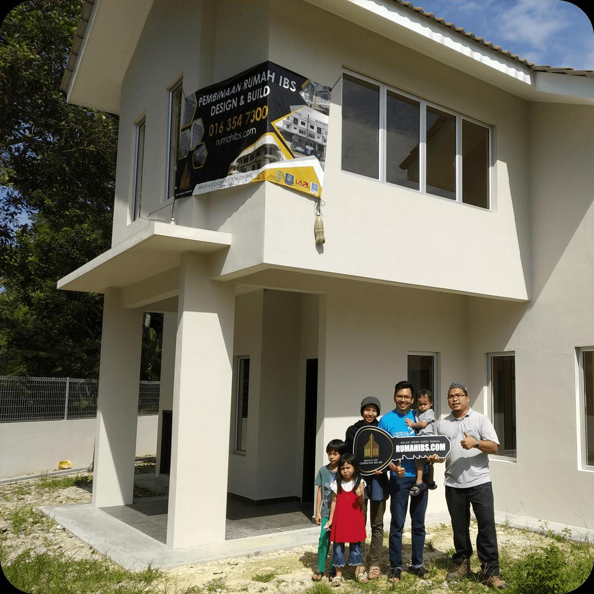 Rumah IBS   Kontraktor Bina Rumah IBS (LPPSA, KWSP & Tunai) 17